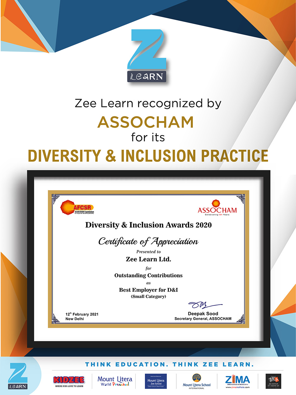 1. Zee Learn_Diversity and Inclusion Award